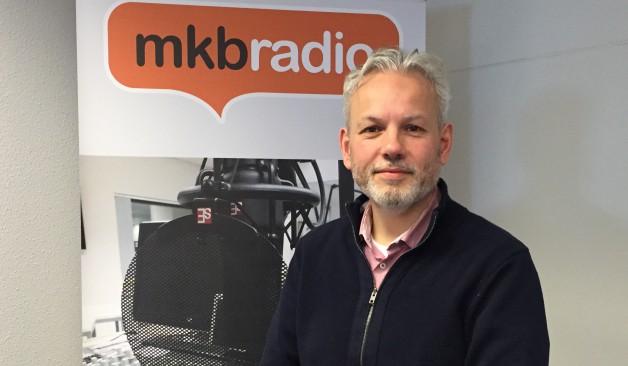 Arjan bij MKB radio